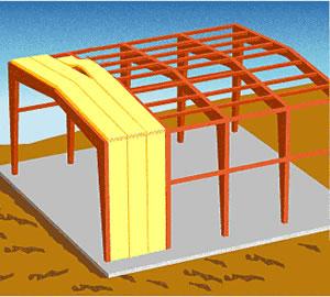 钢结构使用玻璃棉