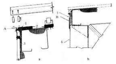 钢结构女儿墙,檐口节点的保温处理图