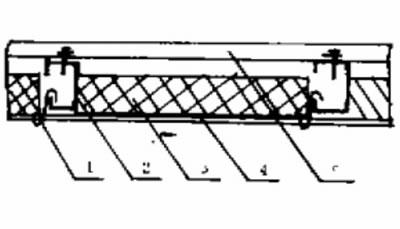 钢结构保温棉铺设法